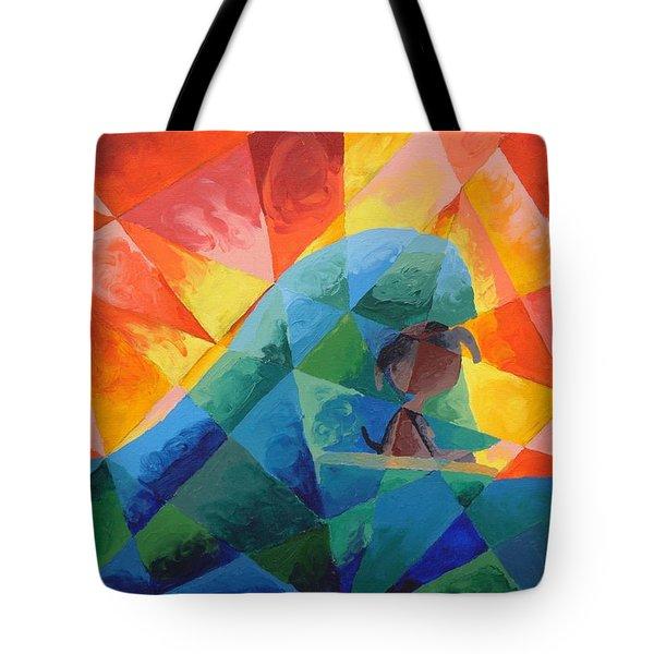 Surf Dog Tote Bag