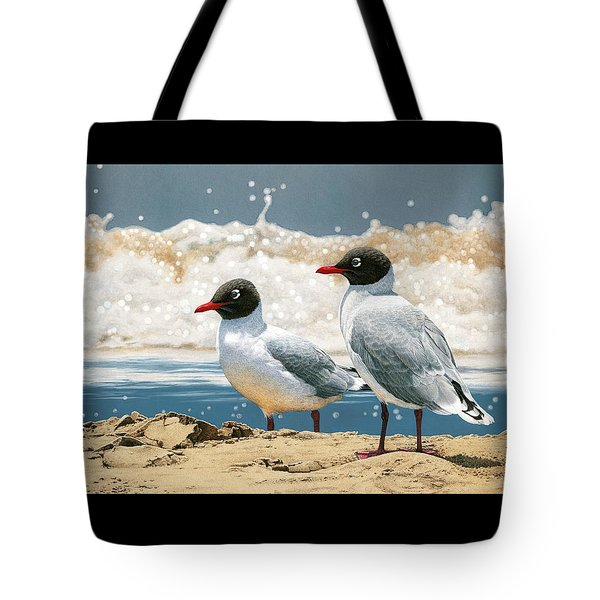 Surf 'n' Turf - Franklin's Gulls Tote Bag