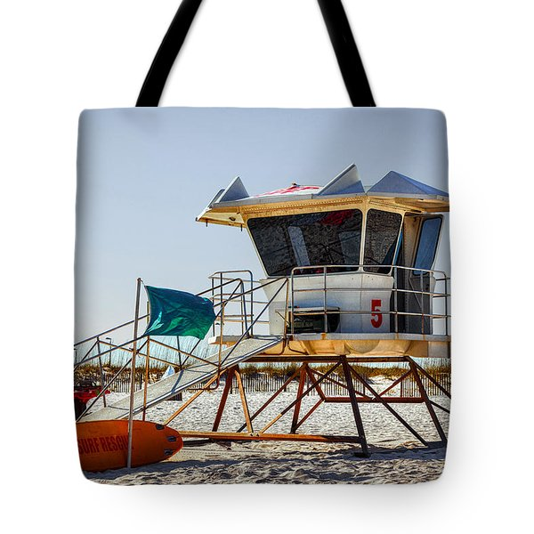 Surf Rescue Tote Bag
