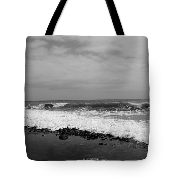 Surf Rolling In  Tote Bag