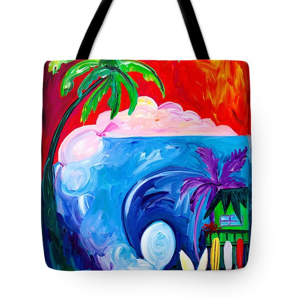 Surf Spot Tote Bag by Beth Cooper