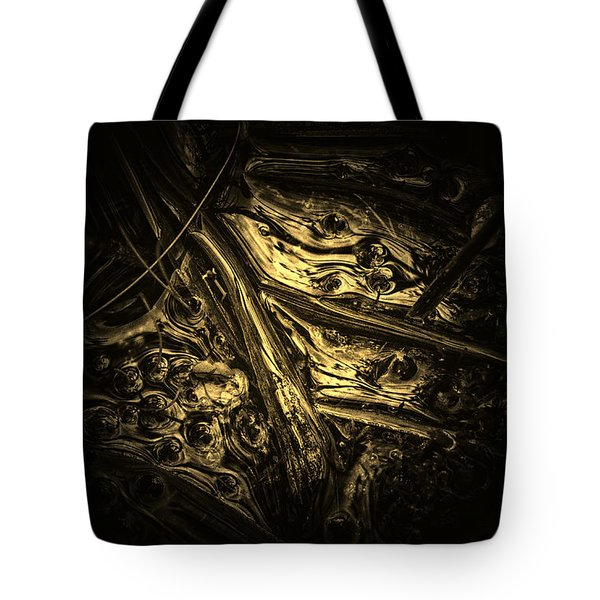 Surface Of The Pond Tote Bag