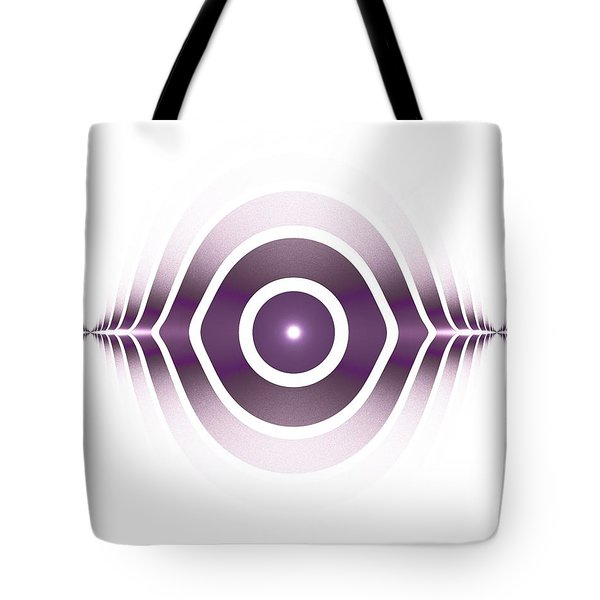Surface Waves - Purple Tote Bag by Anastasiya Malakhova
