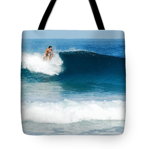 Surfer Dsc_1330 Tote Bag by Michael Peychich