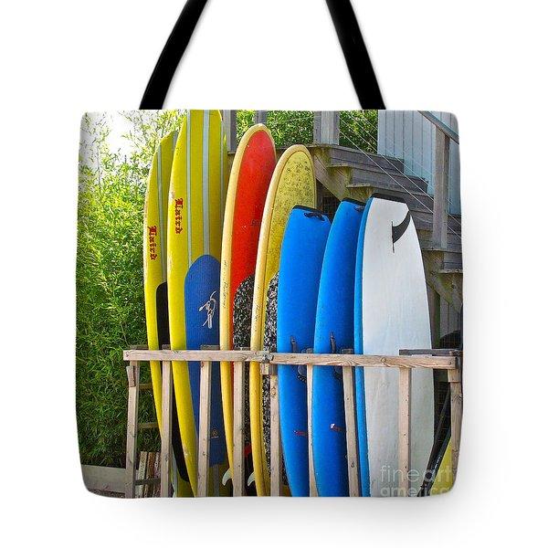Surfer Dudes II Tote Bag