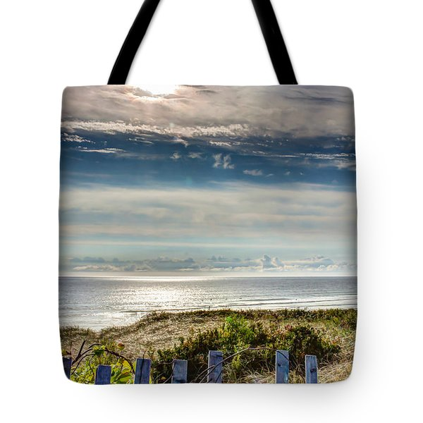 Surfers At Coast Guard Beach Tote Bag