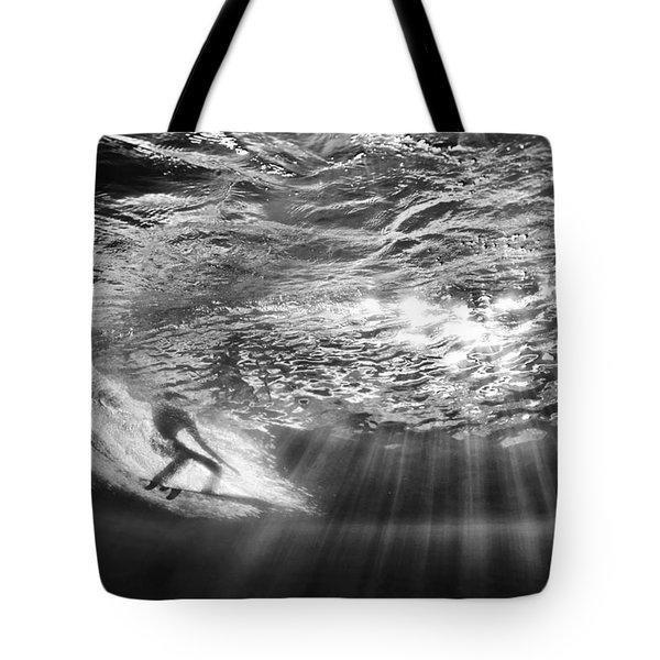 Surfing God Light Tote Bag