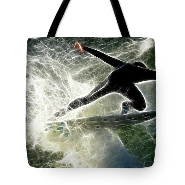 Surfing Usa Tote Bag by Bob Christopher