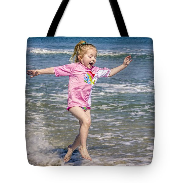 Tote Bag featuring the photograph Surf's Up by Rob Sellers