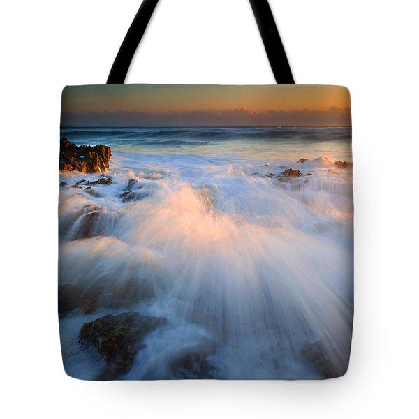 Surge Tote Bag by Mike  Dawson
