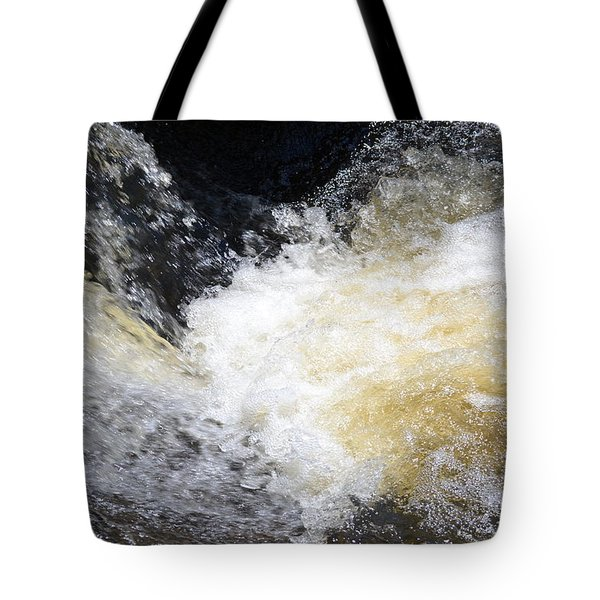 Tote Bag featuring the photograph Surging Waters by Tara Potts