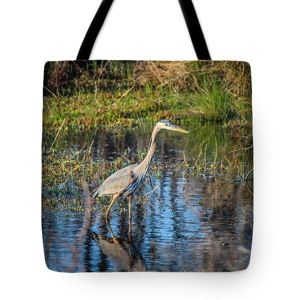 Surprise On The Trail Tote Bag