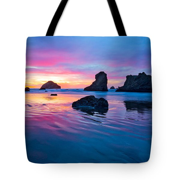 Surprise Sunset Tote Bag