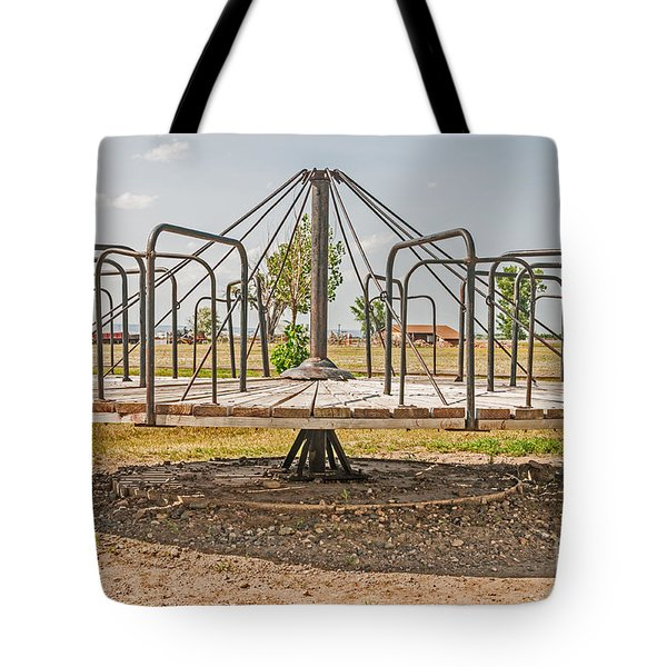 Surprise Under The Merry-go-round Tote Bag
