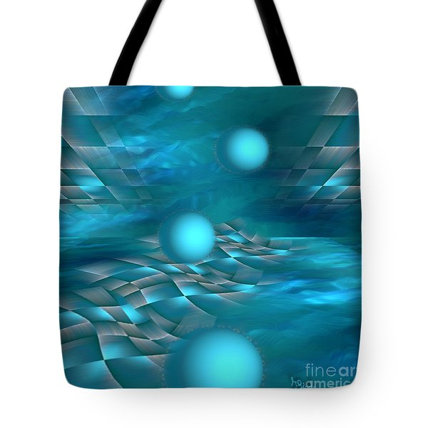 Surreal Art - Bounce Along By Rgiada  Tote Bag