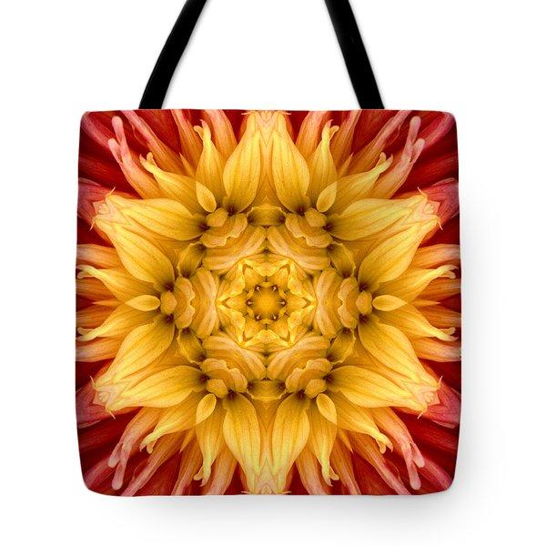 Surreal Flower No.4 Tote Bag