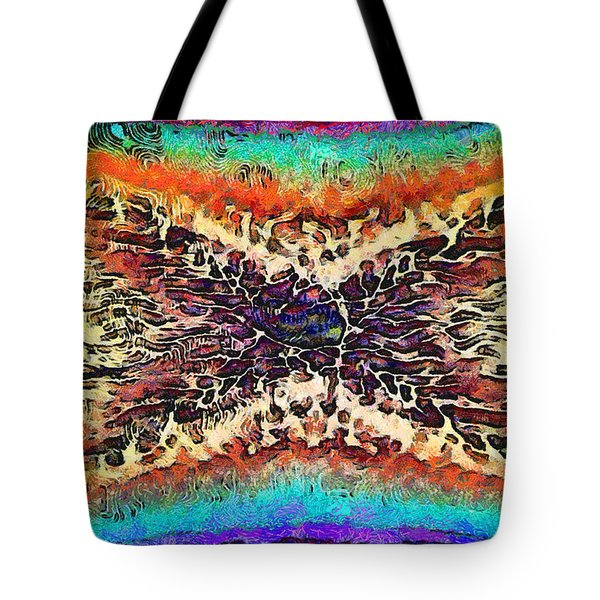 Surreal Illusions Tote Bag by George Rossidis