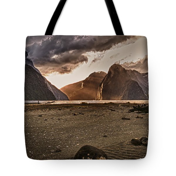 Surreal Milford Tote Bag