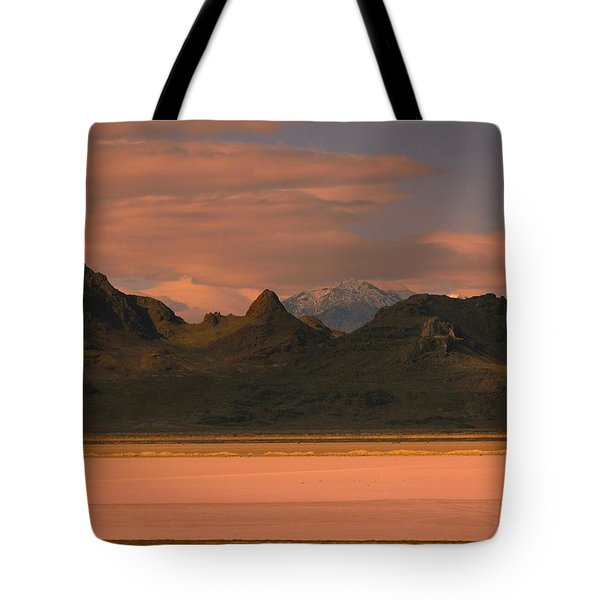 Surreal Mountains In Utah #4 Tote Bag