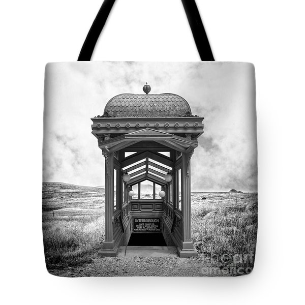 Subway Surreal Tote Bag by Edward Fielding