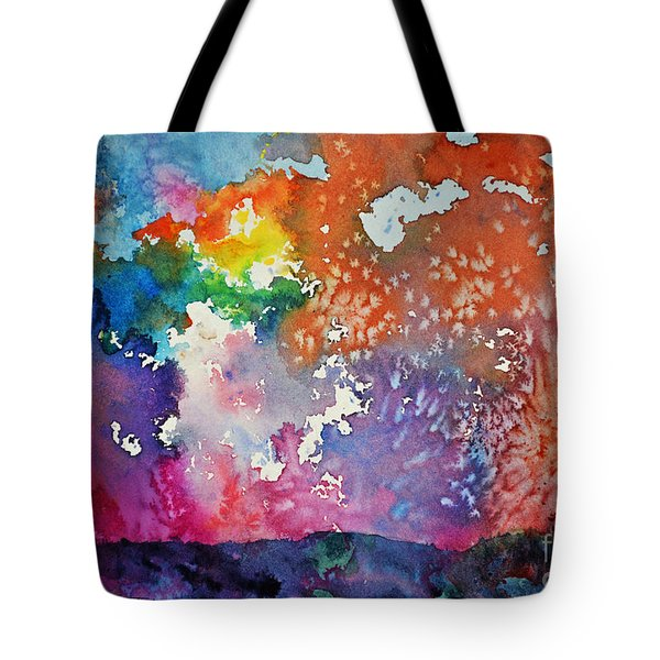 Surreal Sunset Tote Bag by Joan Hartenstein