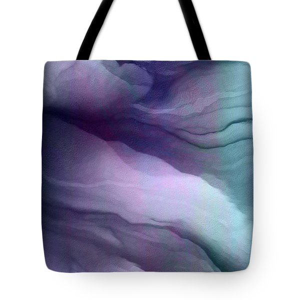 Surrender - Abstract Art Tote Bag by Jaison Cianelli