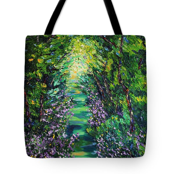 Tote Bag featuring the painting Surrender by Meaghan Troup