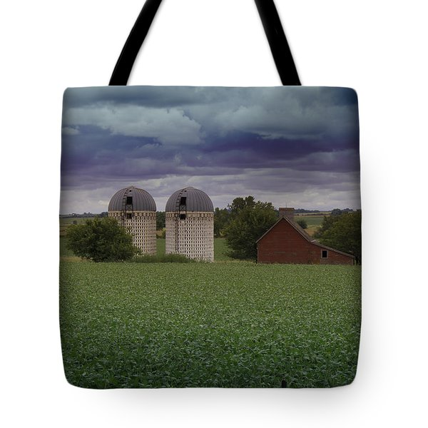 Surrounded By Fields Tote Bag