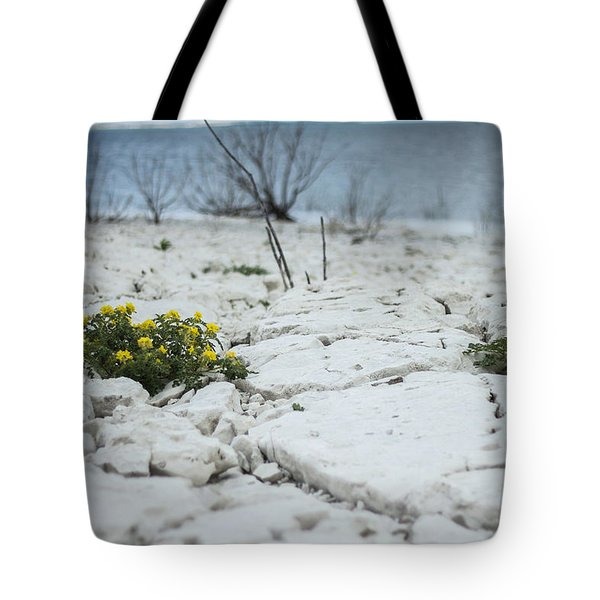 Tote Bag featuring the photograph Survival by Amber Kresge