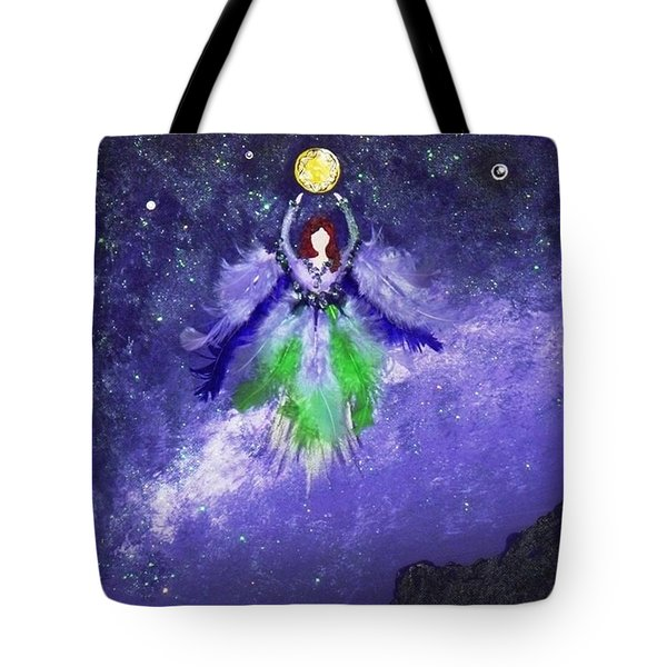 Tote Bag featuring the painting Survivor by Alys Caviness-Gober