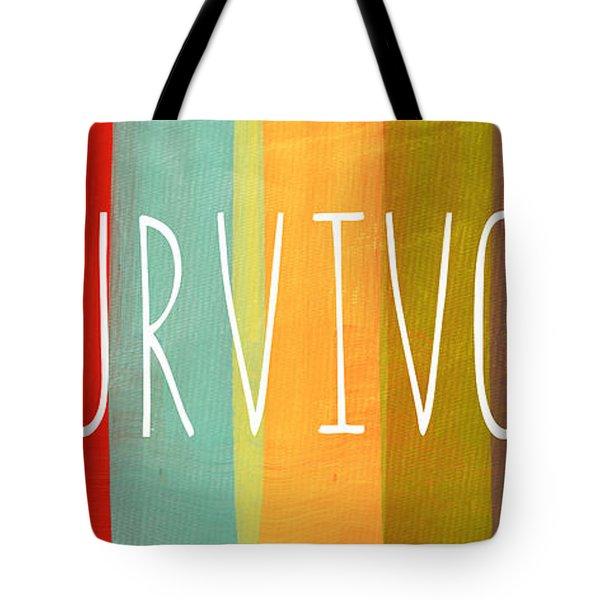 Survivor Tote Bag by Linda Woods