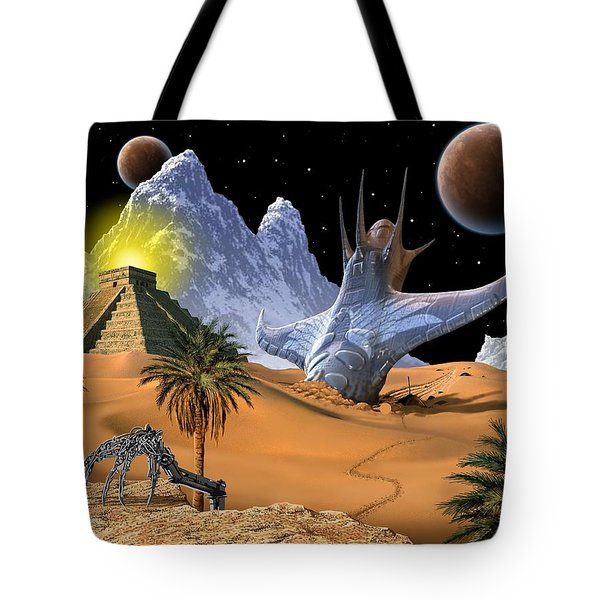 Survivor Tote Bag by Scott Ross