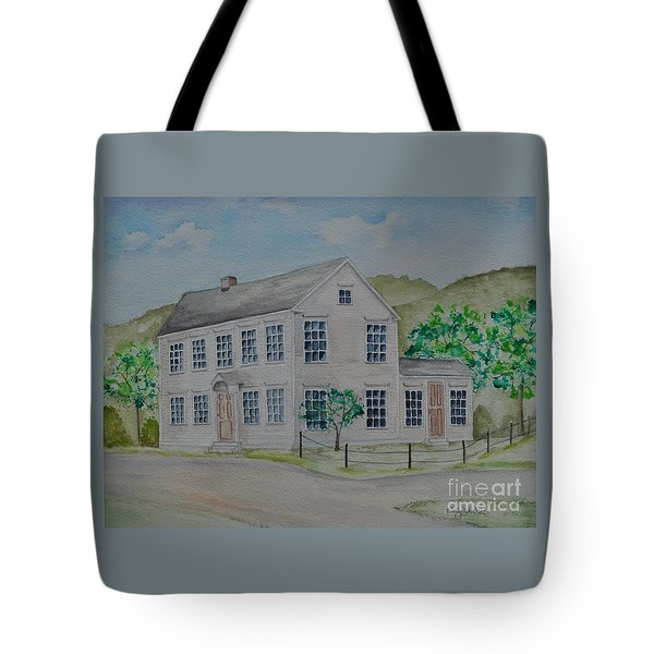 Susan B. Anthony Birthplace Tote Bag by Sally Rice
