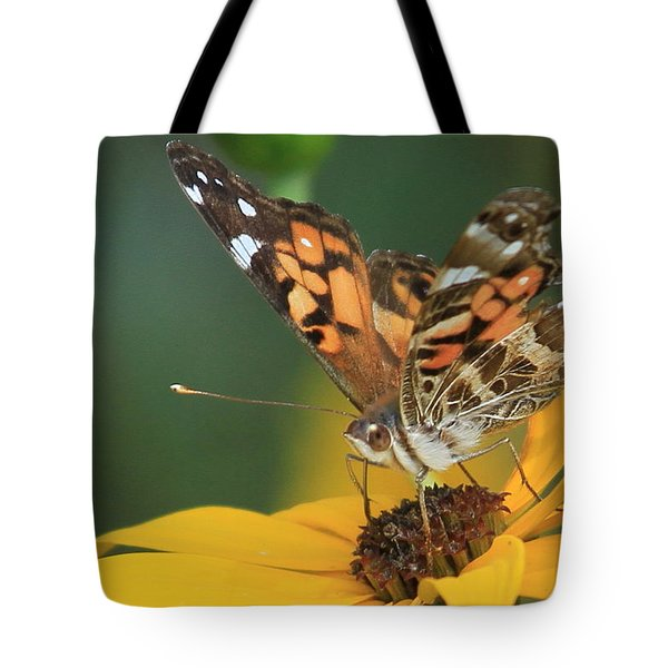 Susan Painted Lady Tote Bag