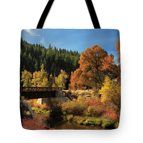 Susan River Bridge On The Bizz 2 Tote Bag