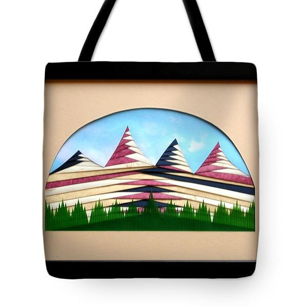 Tote Bag featuring the mixed media Sushi by Ron Davidson