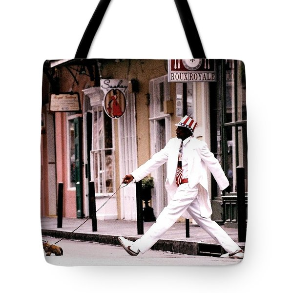 New Orleans Suspended Animation Of A Mime Tote Bag