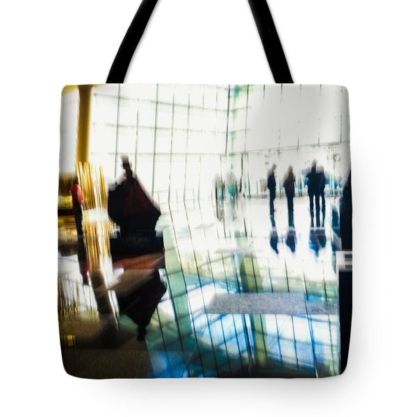 Tote Bag featuring the photograph Suspended In Light by Alex Lapidus
