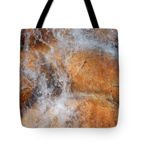 Suspended Motion Tote Bag