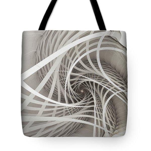 Suspension Bridge-fractal Art Tote Bag