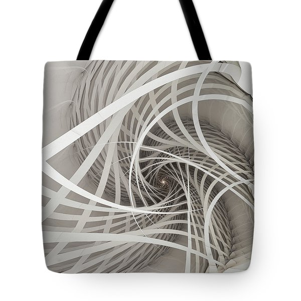 Suspension Bridge-fractal Art Tote Bag