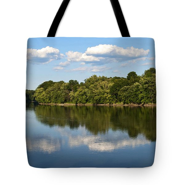 Susquehanna River Tote Bag by Christina Rollo