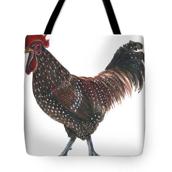 Sussex Rooster Tote Bag by Anonymous