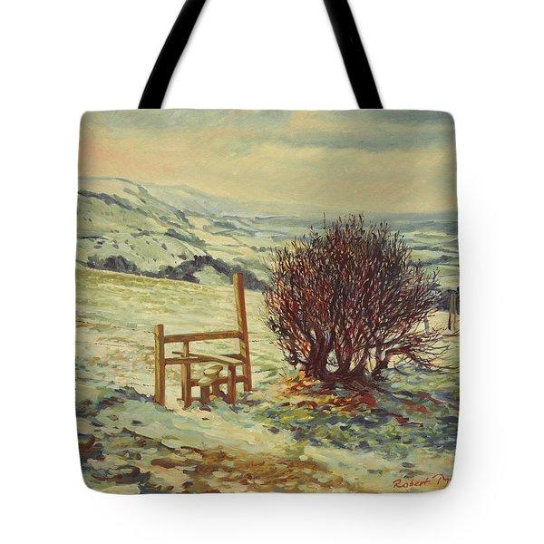 Sussex Stile, Winter, 1996 Tote Bag