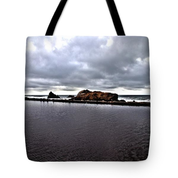 Sutro Baths Pool Tote Bag