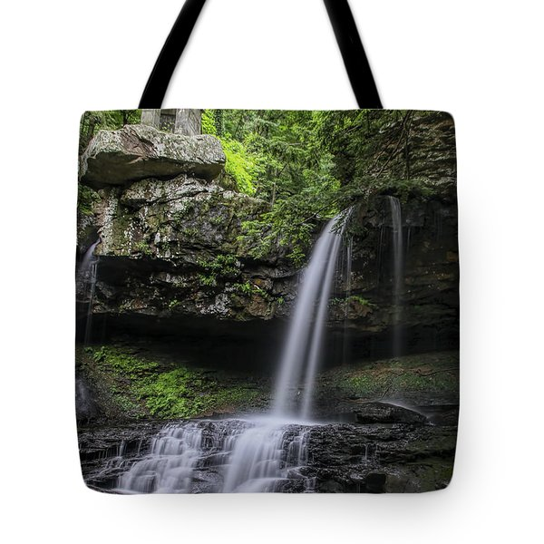Suttons Gulch Waterfall Tote Bag