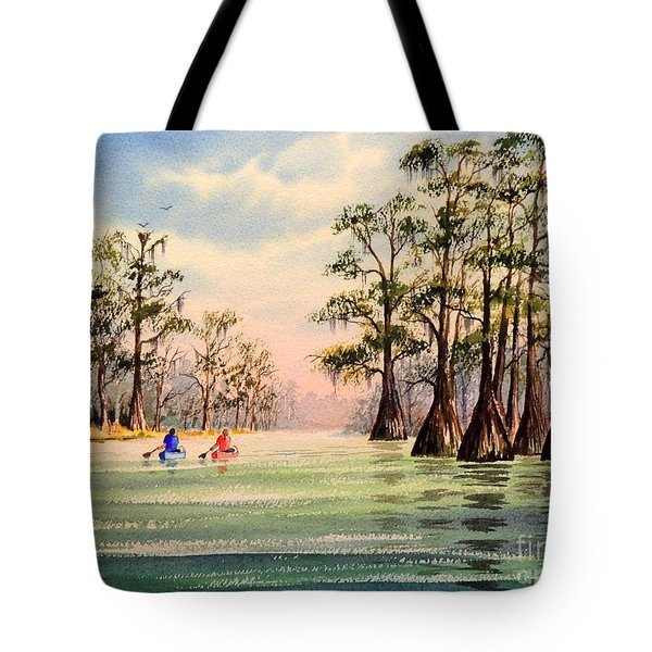 Suwannee River Tote Bag