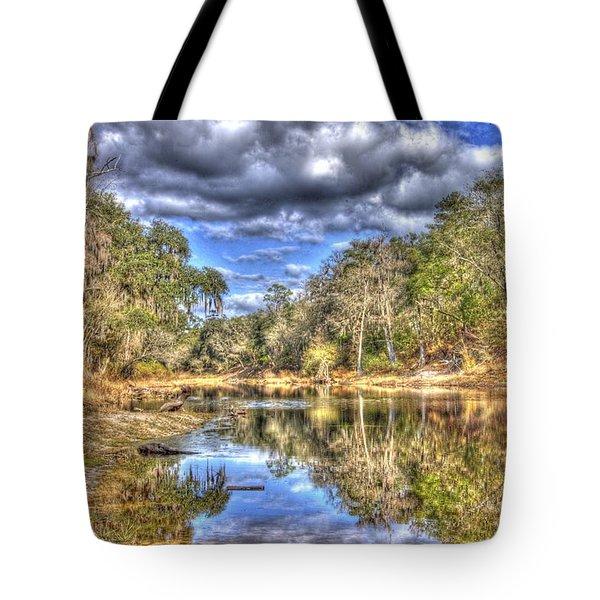 Suwannee River Scene Tote Bag