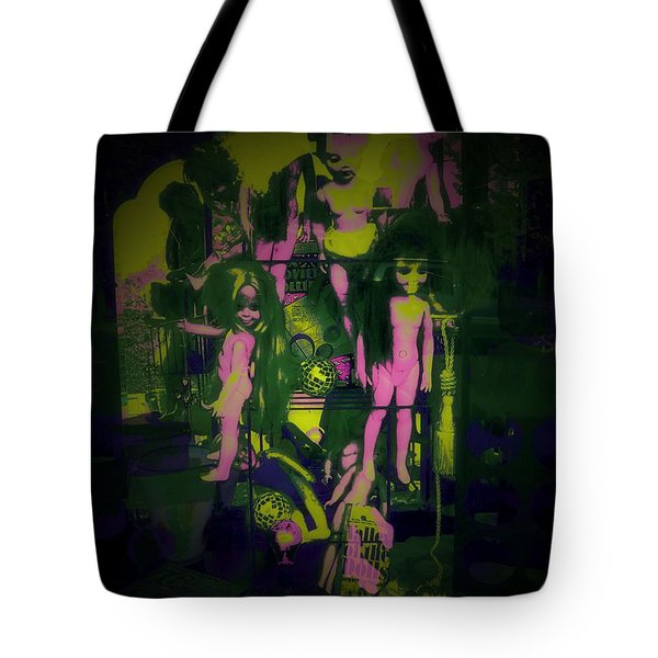 Suzy's Internalized Brooding Tote Bag