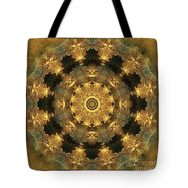 Tote Bag featuring the digital art Svadhisthana Chakra Mandala - Spiritual Art By Giada Rossi by Giada Rossi